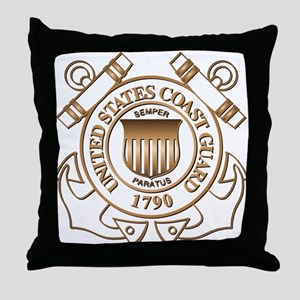 USCG Throw Pillow