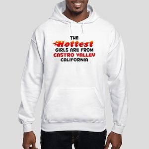 Hot Girls: Castro Valle, CA Hooded Sweatshirt
