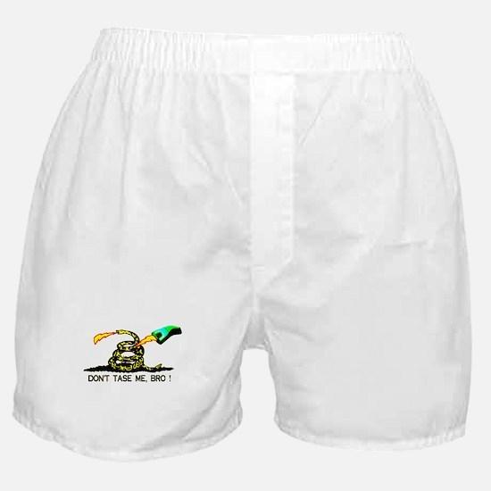 Don't Tase me, Bro ! t-shirt  Boxer Shorts