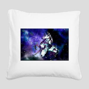 Pegasus Square Canvas Pillow