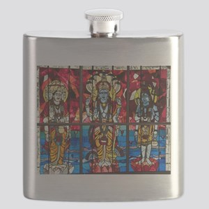 Trinity Stained Glass Window Flask