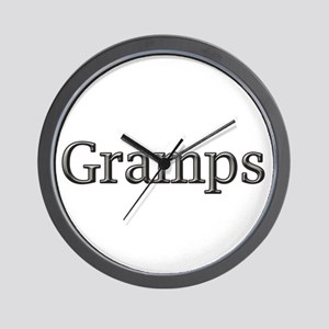 CLICK TO VIEW Gramps Wall Clock