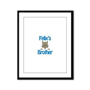 Felix's Brother Framed Panel Print
