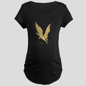 Pegasus in Flight ~ Maternity Dark T-Shirt
