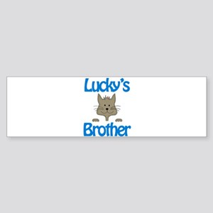 Lucky's Brother Bumper Sticker