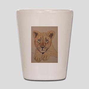 Lion Cub Shot Glass