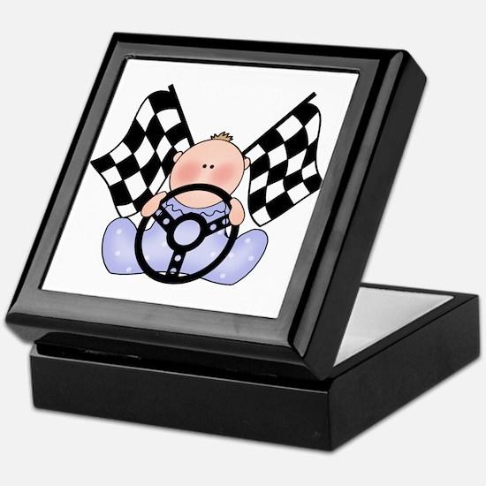 Lil Race Winner Baby Boy Keepsake Box