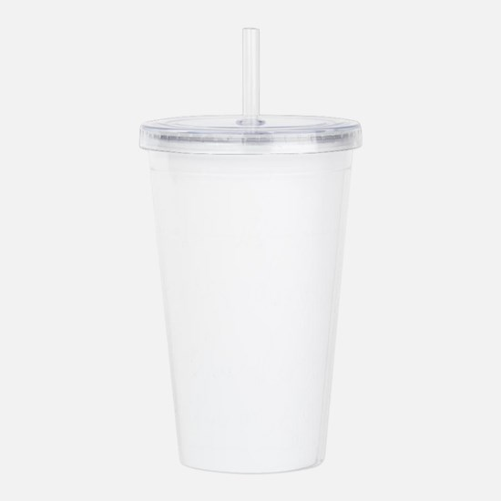 Life is divided into t Acrylic Double-wall Tumbler
