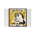 Cat Leo Rectangle Magnet (100 pack)
