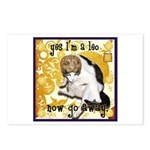 Cat Leo Postcards (Package of 8)