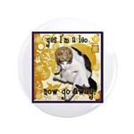 "Cat Leo 3.5"" Button (100 pack)"