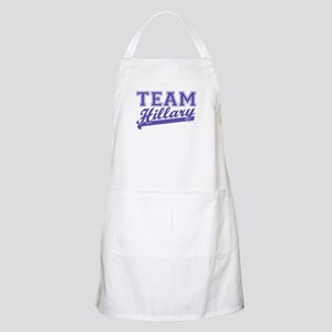 Team Hillary Blue BBQ Apron