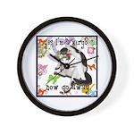 Cat Virgo Wall Clock