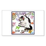 Cat Virgo Sticker (Rectangle)