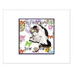 Cat Virgo Small Poster