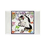 Cat Virgo Rectangle Magnet (10 pack)