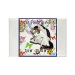 Cat Virgo Rectangle Magnet (100 pack)