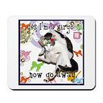 Cat Virgo Mousepad