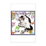 Cat Virgo Mini Poster Print