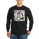 Cat Virgo Long Sleeve Dark T-Shirt