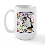 Cat Virgo Large Mug