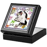 Cat Virgo Keepsake Box