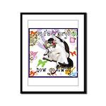 Cat Virgo Framed Panel Print