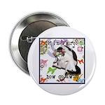 "Cat Virgo 2.25"" Button (100 pack)"