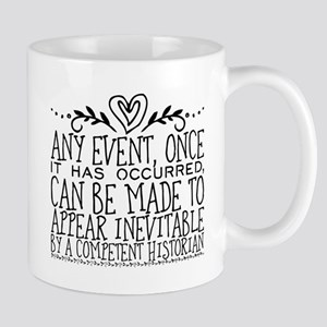 Any event, once it has occurred, can be made Mugs