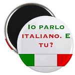 "Io parlo italiano/2.25"" Magnet (10 pack)"