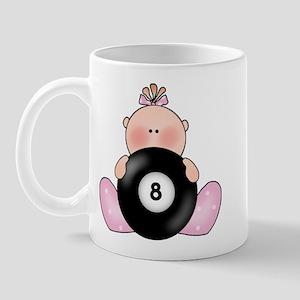 Lil Billiards Baby Girl Mug