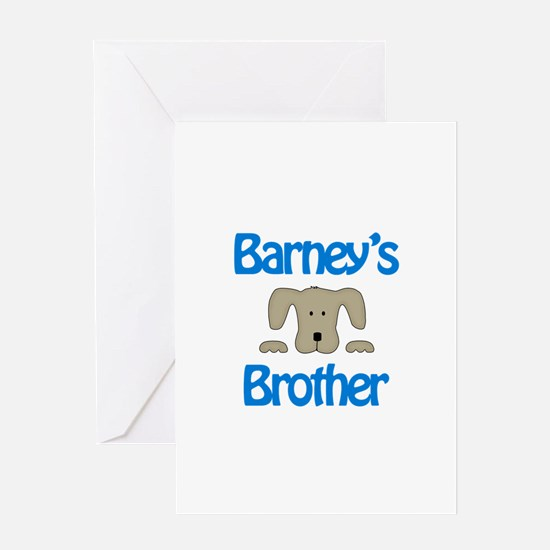 Barney's Brother Greeting Card