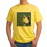 Cat Libra Yellow T-Shirt