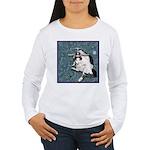 Cat Libra Women's Long Sleeve T-Shirt