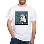Cat Libra White T-Shirt