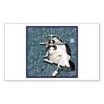Cat Libra Sticker (Rectangle)