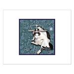 Cat Libra Small Poster