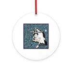 Cat Libra Ornament (Round)