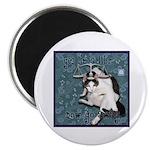 "Cat Libra 2.25"" Magnet (100 pack)"