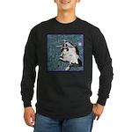 Cat Libra Long Sleeve Dark T-Shirt