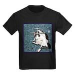 Cat Libra Kids Dark T-Shirt