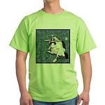 Cat Libra Green T-Shirt