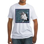 Cat Libra Fitted T-Shirt