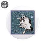 "Cat Libra 3.5"" Button (10 pack)"