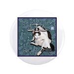 "Cat Libra 3.5"" Button (100 pack)"