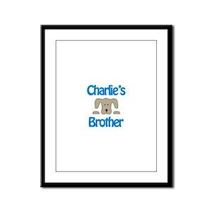 Charlie's Brother Framed Panel Print