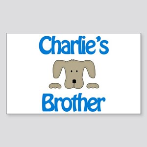 Charlie's Brother Rectangle Sticker