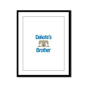 Dakota's Brother Framed Panel Print