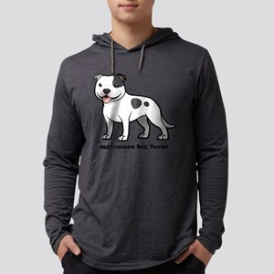staffordshire bull terrier Long Sleeve T-Shirt
