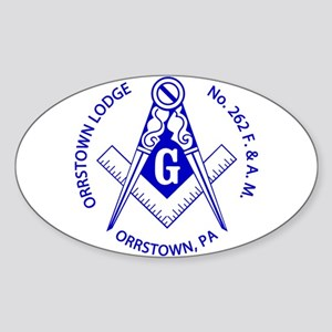 orrstown-ring-blue-split.fw Sticker